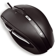 Mouse Cherry Xero Optico Traveller Usb 1000dpi Negro JM-0100