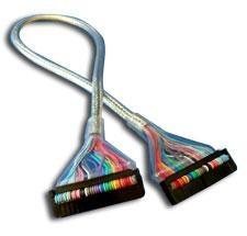 Cable Redondo Para Floopy Plata K-FLOOPY/PLATA