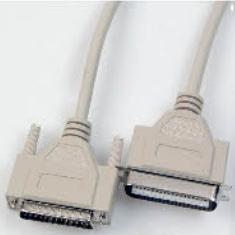 Cable Paralelo Macho Macho (impresora)  Bidirecciona (bitronic) Db25m Cn36m 2m K-IMP2B