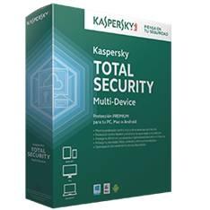 Antivirus Kaspersky Total Security 2015 3 Unidades Multi-device KASPERSKYT15X3MD