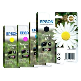 PACK 4 CARTUCHOS EPSON T180 N
