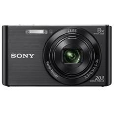 Kit Camara Digital Sony Kw830b 20.1mp Zo 8x Video Hd Negra  +  Funda  +  Sd 8gb KW830BBGSFDI