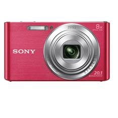 Kit Camara Digital Sony Kw830p 20.1mp Zo 8x Video Hd Rosa  +  Funda  +  Sd 8gb KW830PBGSFDI