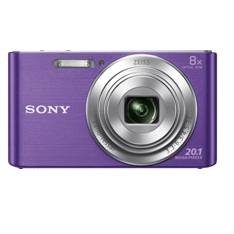 Kit Camara Digital Sony Kw830v 20.1mp Zo 8x Video Hd Violeta   +  Funda  +  Sd 8gb KW830VBGSFDI