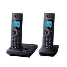 Telefono Inalambrico Digital Dect Panasonic Kx-tg7852spb, Duo KX-TG7852SPB