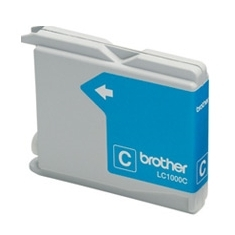 CARTUCHO TINTA BROTHER LC1000C CIAN 400