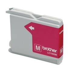 CARTUCHO TINTA BROTHER LC1000M MAGENTA 400