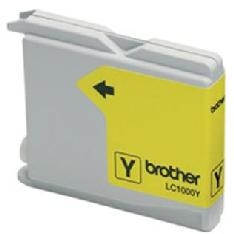 CARTUCHO TINTA BROTHER LC1000Y AMARILLO 400