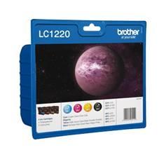 CARTUCHO TINTA BROTHER LC1220BKBP NEGRO 300