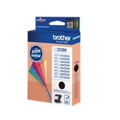 CARTUCHO TINTA BROTHER LC223BKBP NEGRO 550