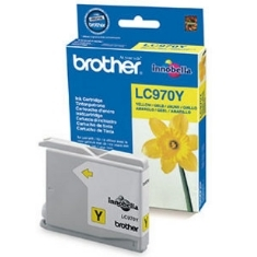 CARTUCHO TINTA BROTHER LC970Y AMARILLO 300