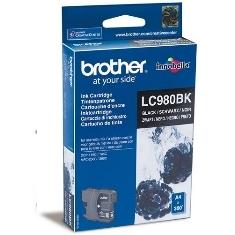 CARTUCHO TINTA BROTHER LC980BK NEGRO 300