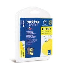 CARTUCHO TINTA BROTHER LC980Y AMARILLO 260
