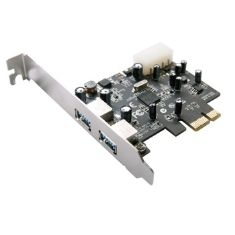 Tarjeta Pci Express X1, 2 Puertos Usb 3.0 5gbps Perfil Bajo LCS-6380LP