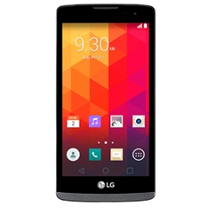 Telefono Movil Smartphone Lg Leon Quad Core 1.2ghz 4.5 Pulgadas 8gb  /  1gb  /  Android Negro LGH340