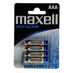 Blister Maxell Cuatro Pilas Alcalinas Aaa Lr-03 LR03-B4GDMXL