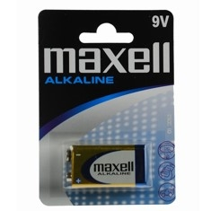 Blister Maxell Pila Alcalina Lr-09 9v LR09-B1MXL