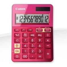 Calculadora Canon Sobremesa Ls-123k Rosa LS-123KROSA