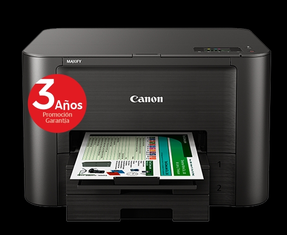 Impresora Canon Inyeccion Color Maxify Ib4050 A4 /  23ppm /  600x1200ppp /  Usb /  Wifi MAXIFYIB4050
