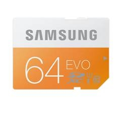Tarjeta Memoria Secure Digital Samsung Mb-sp64d /  Evo /  64gb /  Clase 10 MB-SP64D/EU