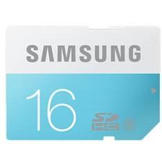 Tarjeta Memoria Secure Digital Samsung Mb-ss16d /  Std /  16gb /  Clase 6 MB-SS16D/EU