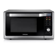Microondas Horno Samsung 32l 6 En 1, Grill,  Yogurteria, Fermentadora, Slim Fry, Freidora, Acero MC3