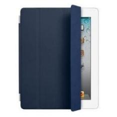 Funda De Piel Smart Cover Azul Marino Solo Ipad V2 Y V3 MD303ZM/A