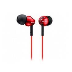 Auriculares Boton Sony Mdrex110lpw Rojo MDREX110LPR