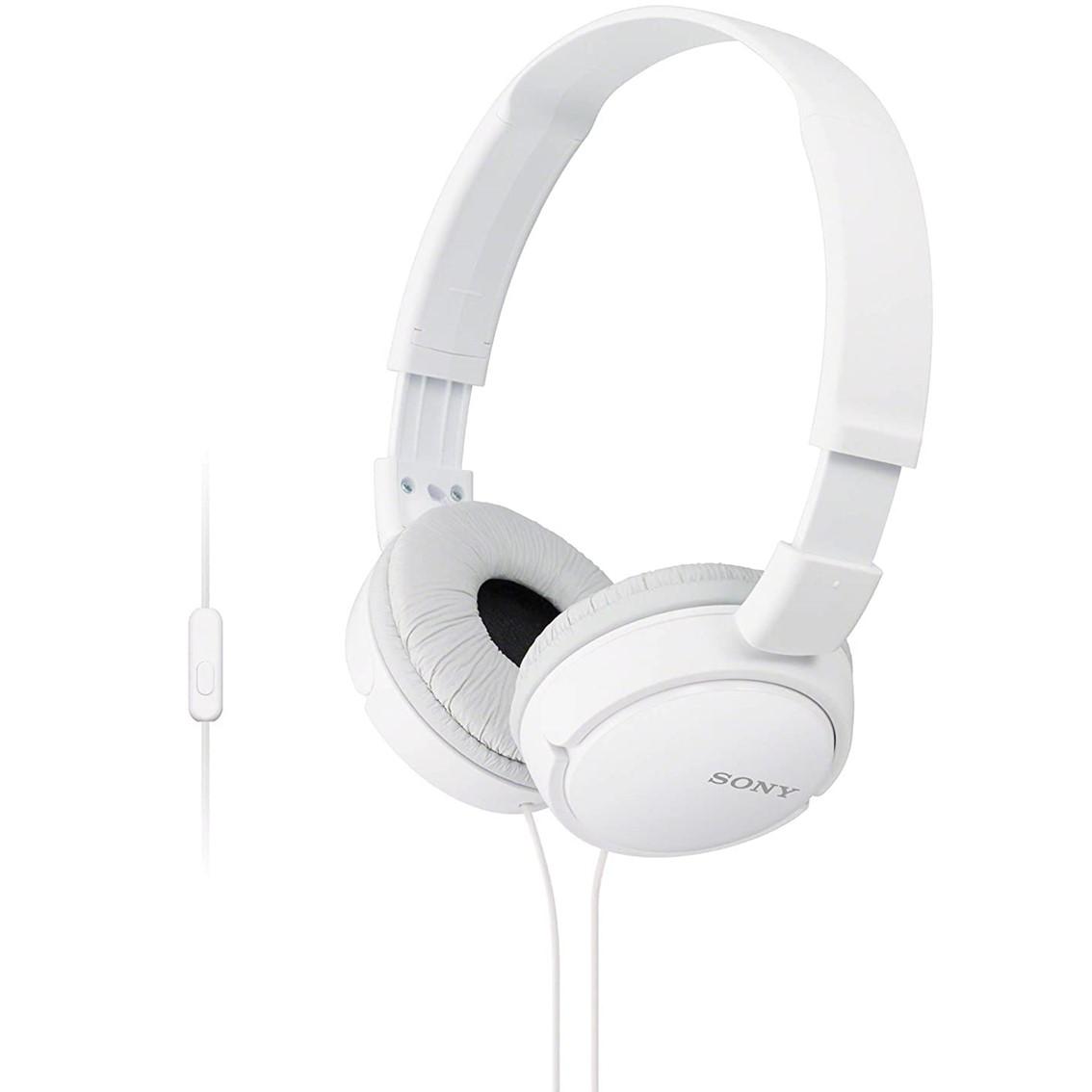 Auriculares Sony Mdrzx110apw  /  Blanco  /  Pleglable  /  Microfono MDRZX110APW