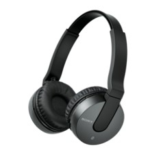 Auriculares Sony Mdrzx550bnb  /  Negro  /  Bluetooth  /  Inalambricos  /  Reduccion De Ruidos  /  Mi
