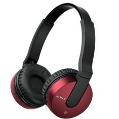 Auriculares Sony Mdrzx550bnr  /  Rojo  /  Bluetooth  /  Inalambricos  /  Reduccion De Ruidos  /  Mic