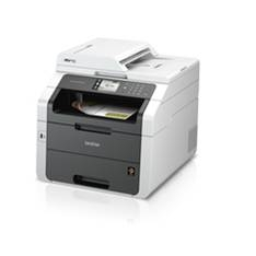 MULTIFUNCION BROTHER LASER COLOR MFC-9340CDw FAX A4/24PPM/128MB/USB/RED/DUPLEX