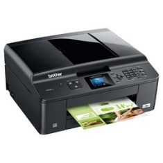 Multifuncion Brother Inyeccion Color Mfc-j430w Fax A4 /  33ppm /  40mb /  Wifi /  Red /  Usb /  Adf