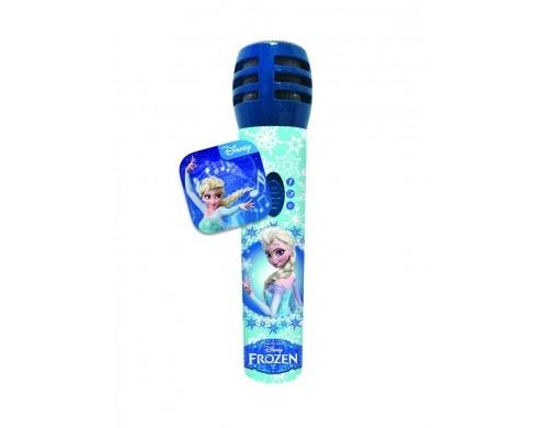 Microfono Disney Frozen  +  App Karaoke MICROFROZEN