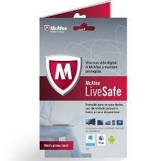 Antivirus Mcafee Livesafe Protege Todos Tus Dispositivos MLS13SMB1RAA