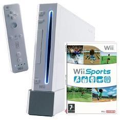 Consola Nintendo Wii Blanca  +  Wii Sport  +  Wii Sport Resort NINTENDO-WII