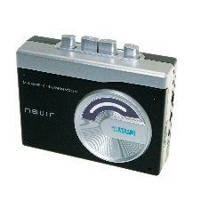 Reproductor Conversor Cassette A Mp3 Nevir NVR-417NEGRO