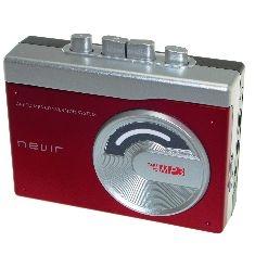 Reproductor Conversor Cassette A Mp3 Nevir NVR-417ROJO