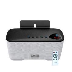 Altavoz Bluetooth Con Radio  Nevir Nvr-810 2.1 10w  + 10w Microsd Usb NVR-810BRD-BLANCO