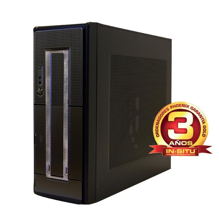 Ordenador De Oficina Phoenix Oberon Pro Intel Core I3, 4gb Ddr3, 500gb, Rw OBERON-2315