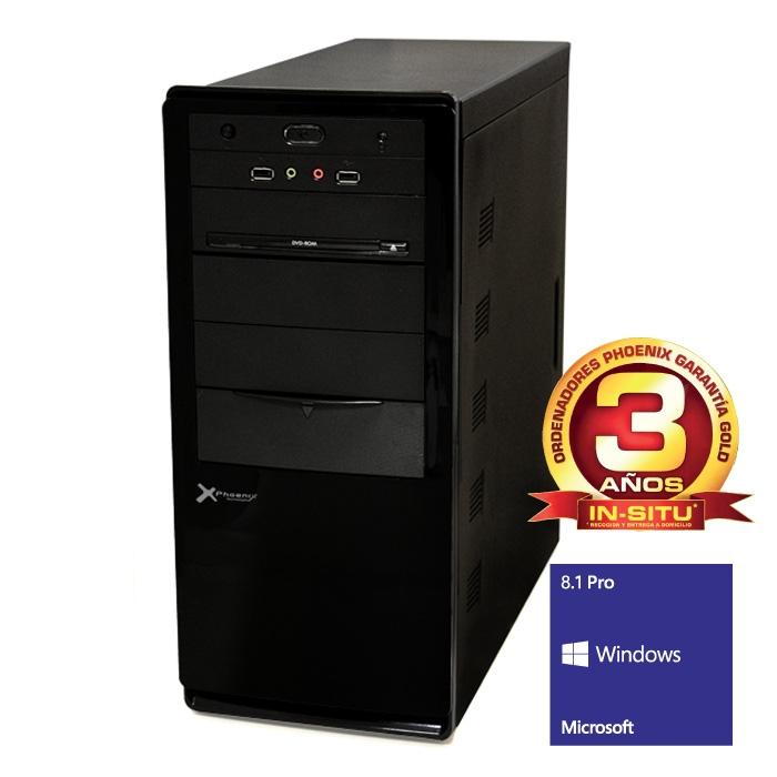 Ordenador De Oficina Phoenix Oberon Pro Intel Core I5, 8gb Ddr3 1600, 1tb, Rw, W8.1pro OBERON5-2315W