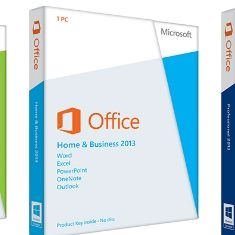 Office 2013 Home & Business Pkc OFFICE2013BUSINES