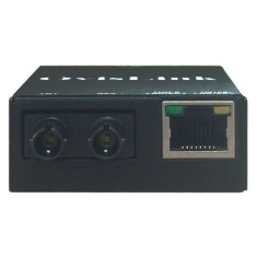 Conversor Fibra Optica Ovislink Transceiver 10 / 100 Tx  A 100 Tx (st) Mini OV-11T