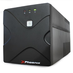 Sai Ups Phoenix 1000va / 600w, Estabilizador De Tension, Funcion De Arranque En Frio , 2 Baterias PH