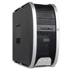 Caja Ordenador Semitorre Atx Phoenix 3806 Gaming  2 Usb Hd Audio. Negro Y Plateado Con Lector Tarjet