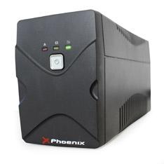 Sai Ups Phoenix 650va / 360w, Estabilizador De Tension, Funcion De Arranque En Frio PH650SPS