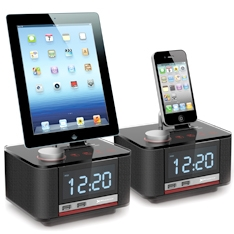 Radio Despertador Cargador Docking Station Phoenix Boxdock Para Ipad 1  /  Iphone 3gs, 4g Y 4gs   /