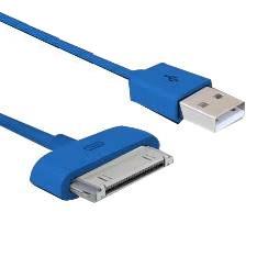 Cable De Carga Y Sincronizacion Phoenix Para Dispositivos Apple Iphone Ipad 3m Azul Oscuro PHDATACHA