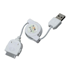 Cable De Carga Y Sincronizacion Phoenix Retractil Para Dispositivos Apple Iphone  /  Ipad  /  Ipod 1