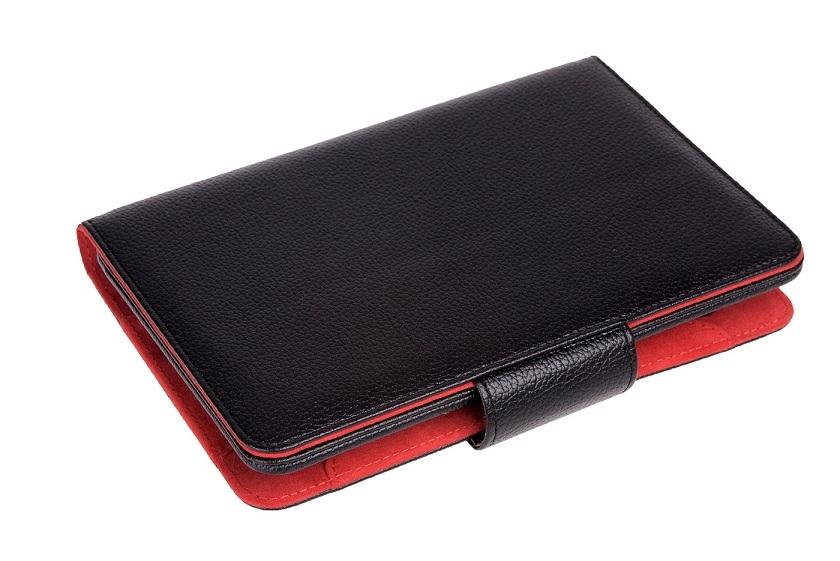 Funda Universal Phoenix Para Tablet  /  Ebook Hasta 6 Pulgadas Pulgadas Negra Simil Piel PHEBOOKCASE